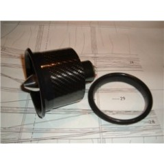 Lip JETFAN 90 mm air inlet