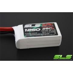Pack Lipo SLS APL MAGNUM 1250mAh 2S1P 7,4V 25C/50C