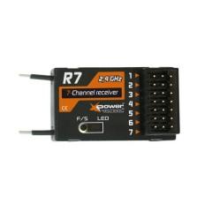 MINI Rx XPower R7 2.4GHz FASST